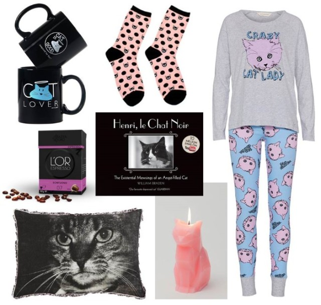 Winter Cat Lady Lookbook