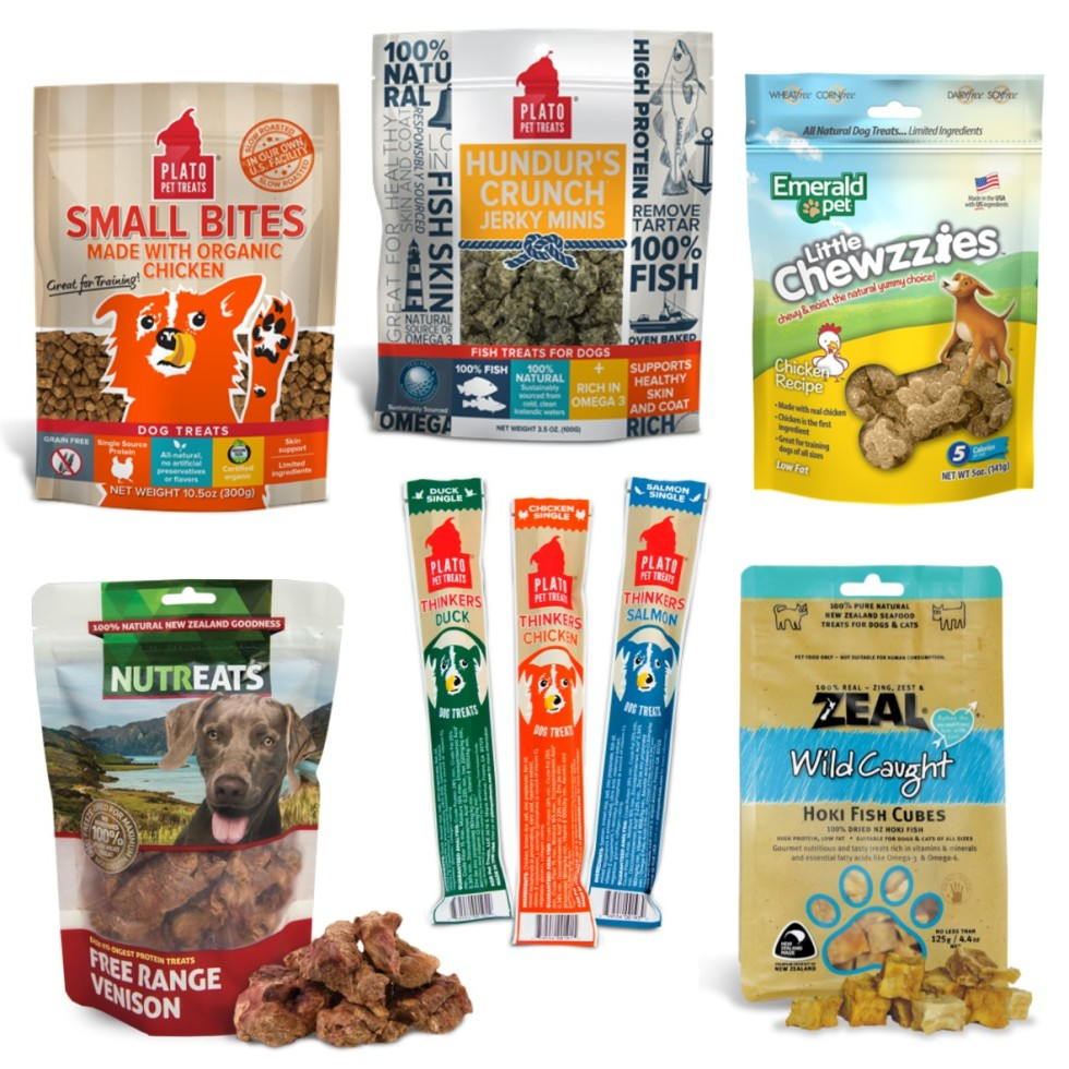 The best treats for training dogs